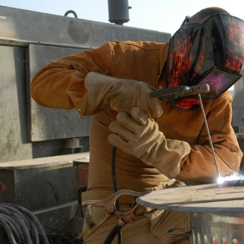 leather ppe welding