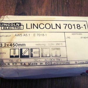 Lincoln 7018 rods damaged