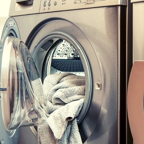 washing machine for work clothes